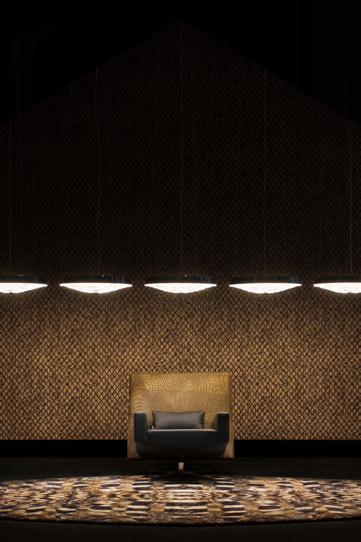 Poetic Composition Jackson Chair, Valentine  Flat