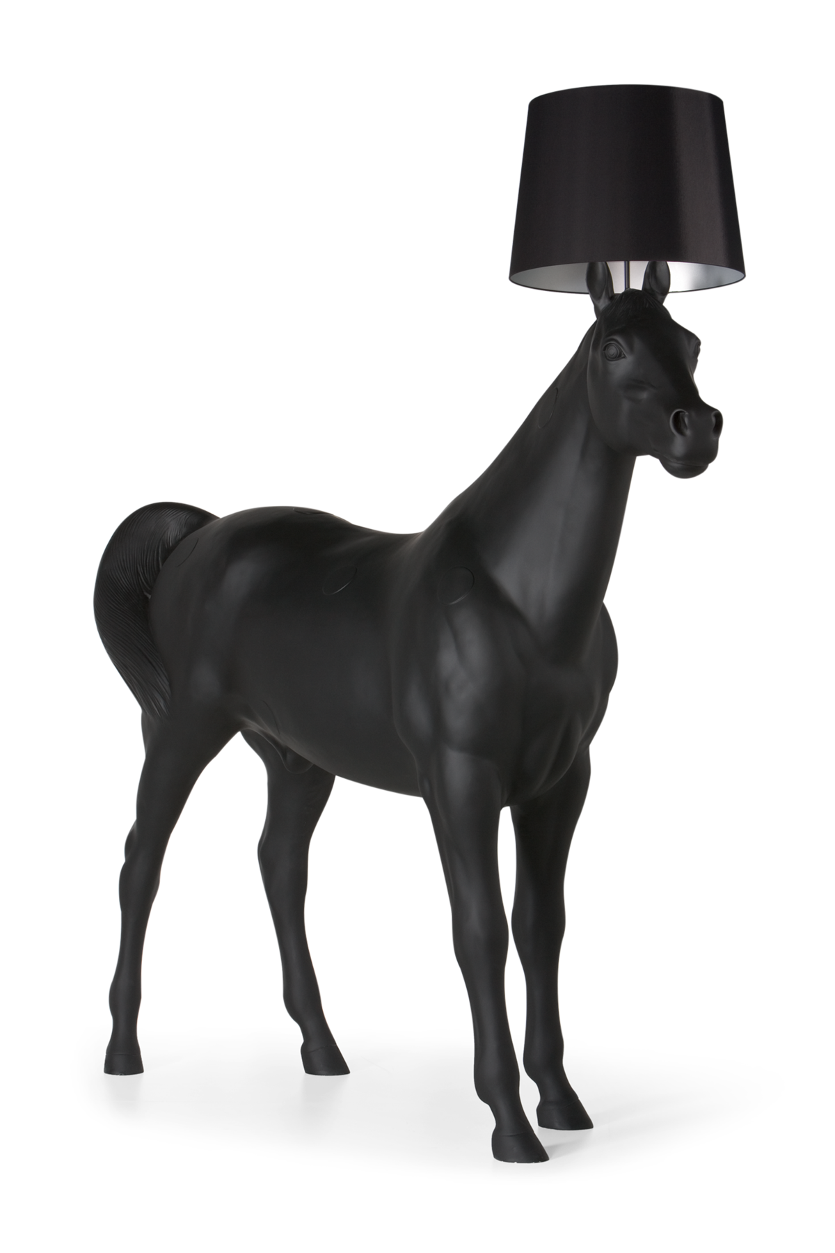 Horse Lamp left view