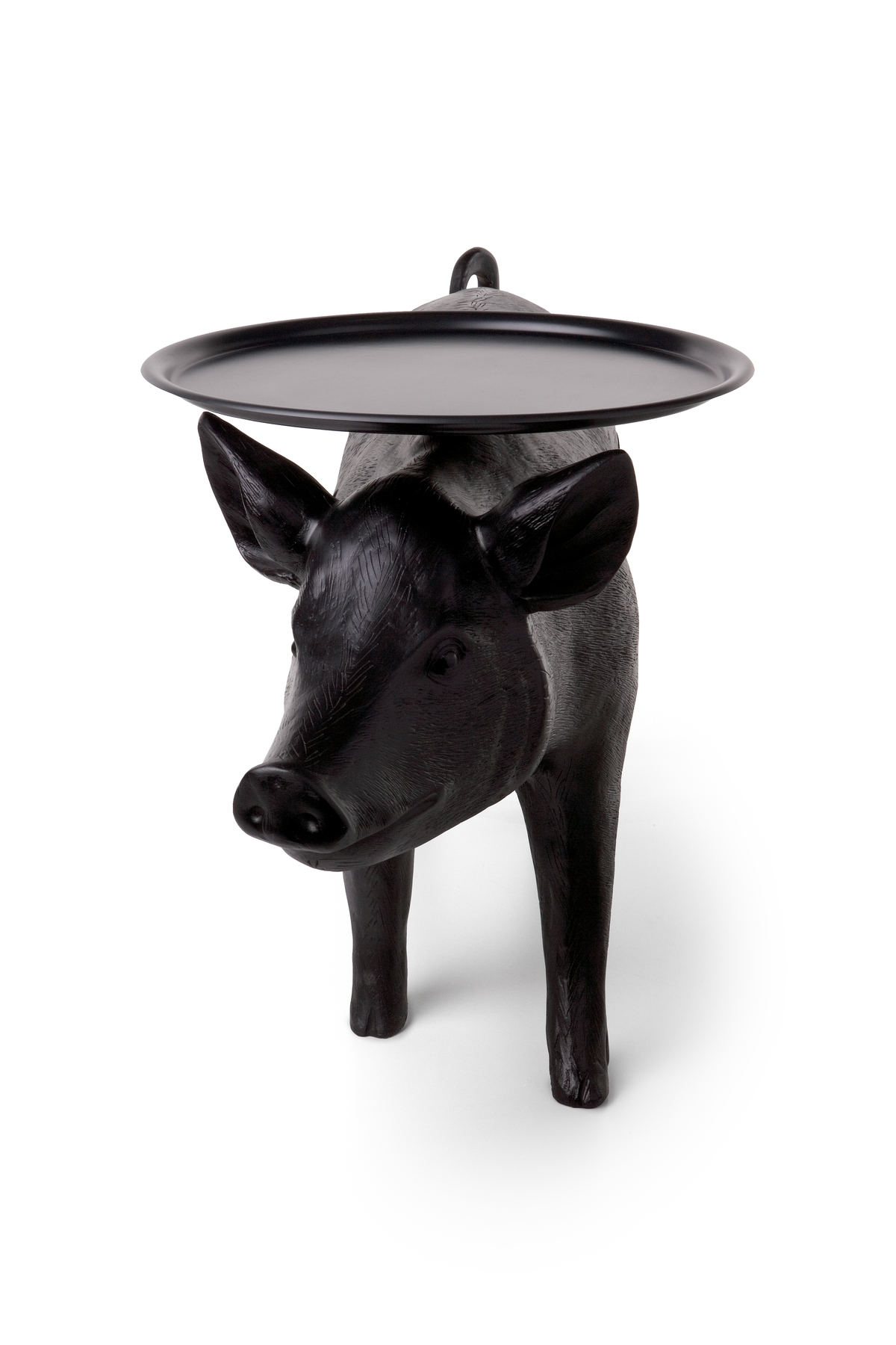 pig table front view