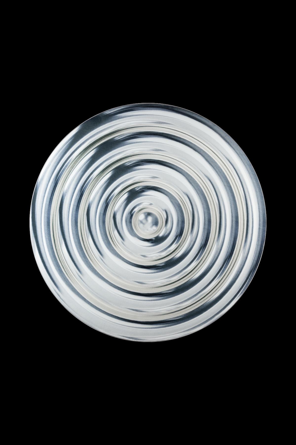 Ripples carpet silver
