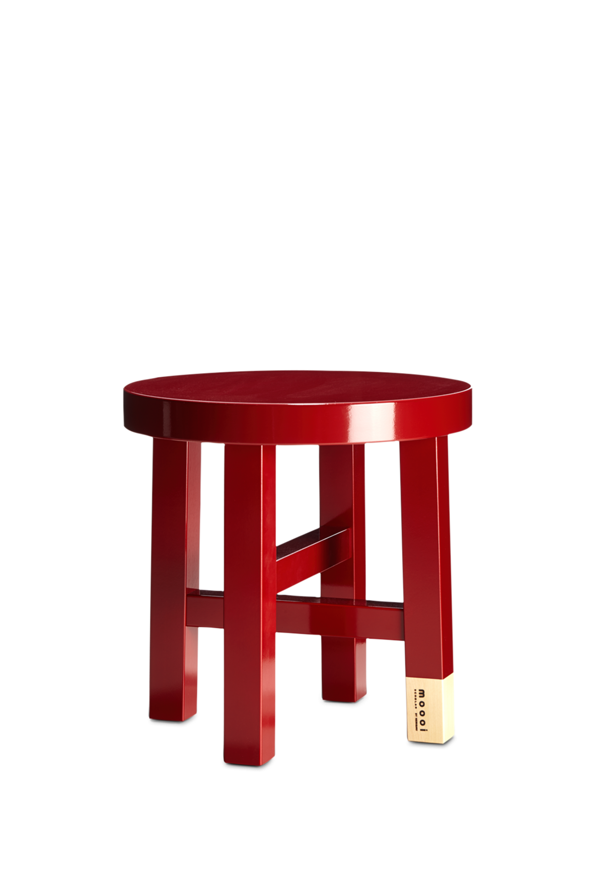 Common Comrades side table Scholar front view