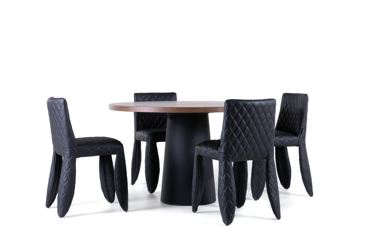 Container Table with Monster Dining Chair set