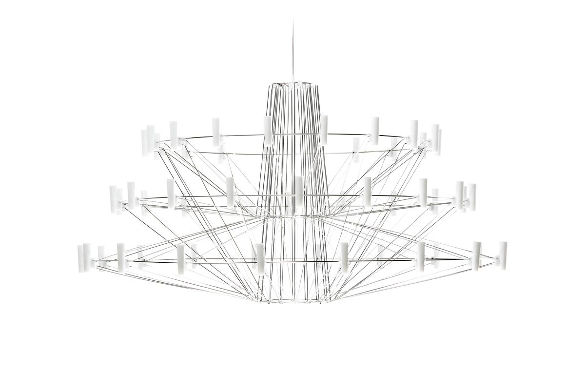 Coppelia suspension light off front view