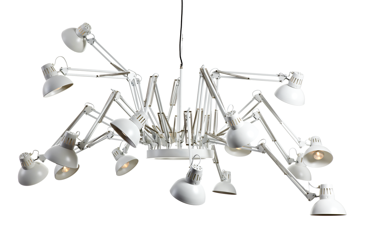 Dear Ingo suspension light white front view 2