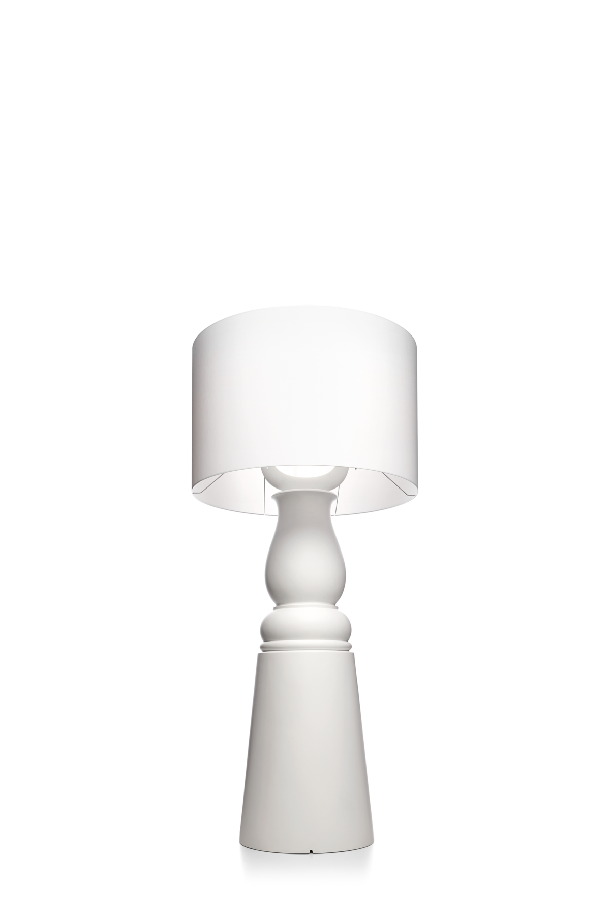 Farooo floor lamp large white front view