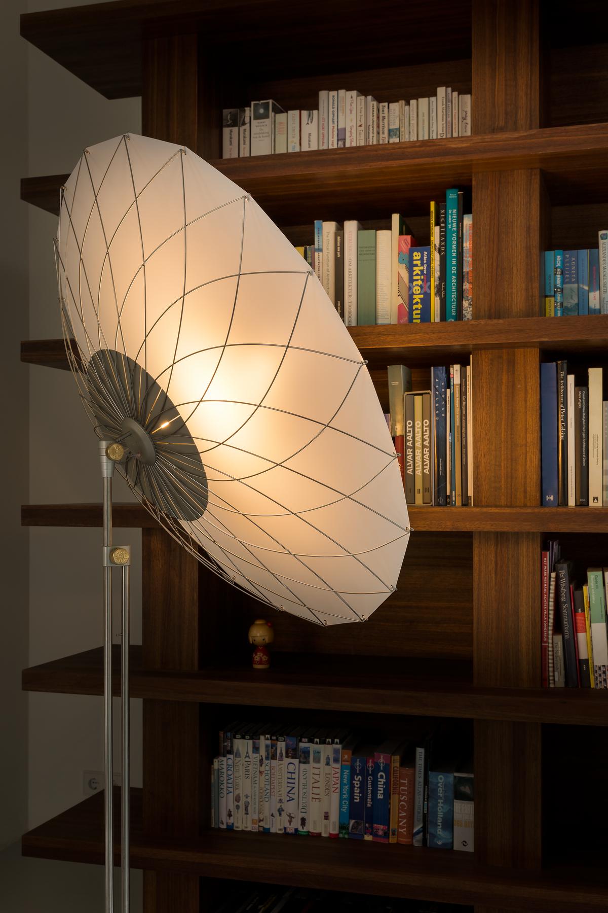 Filigree Floor Lamp in home interior