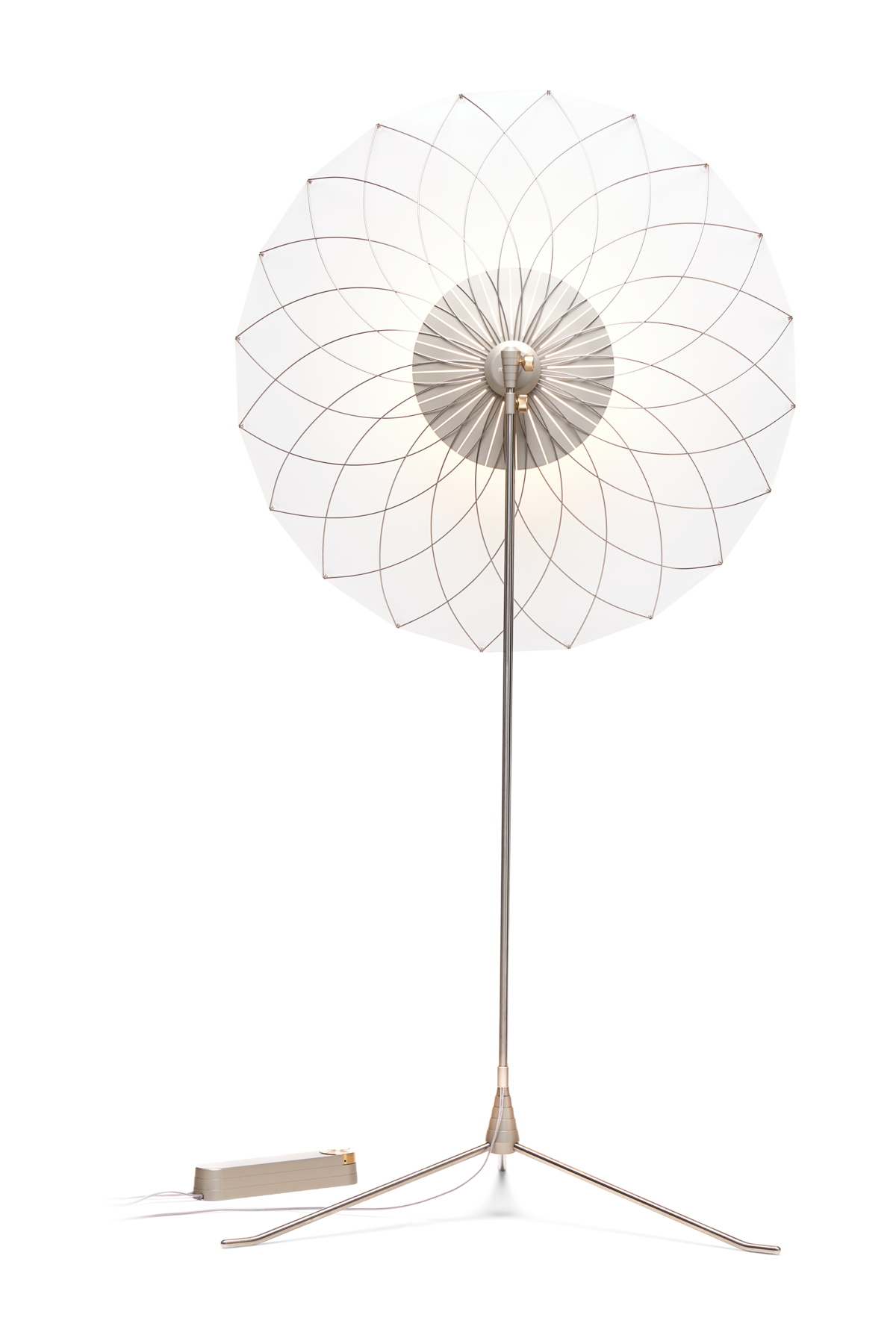 Filigree Floor Lamp light facing forward back side