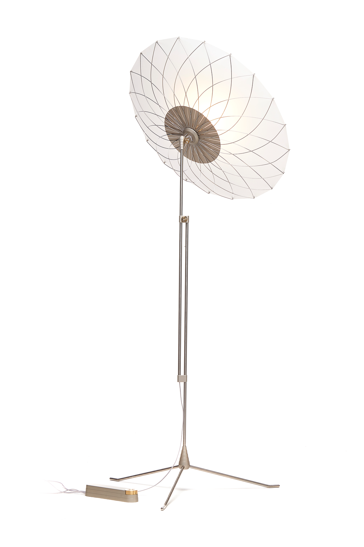 Filigree Floor Lamp light facing up left back view