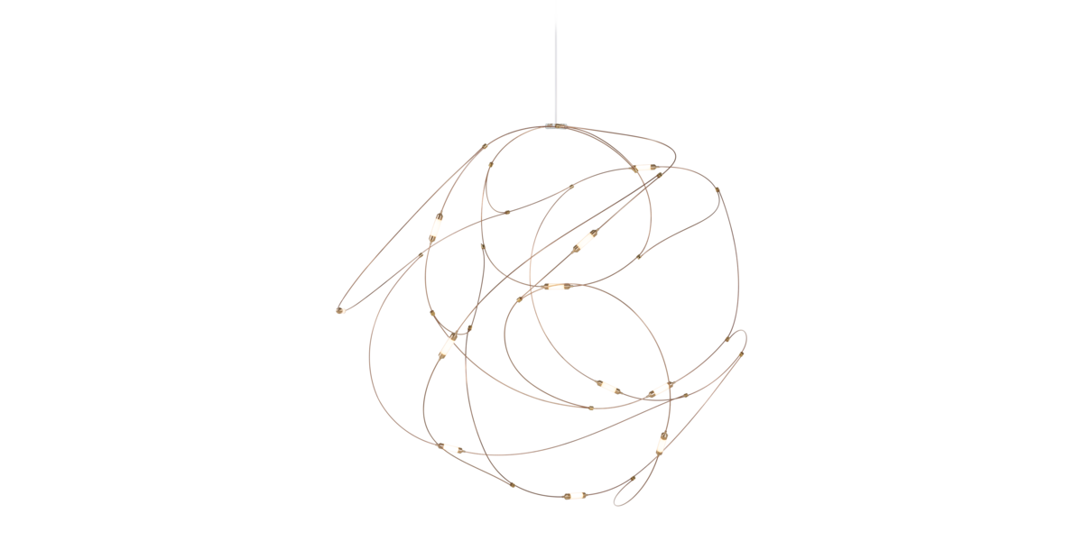 Flock of Light suspension light 11 front view
