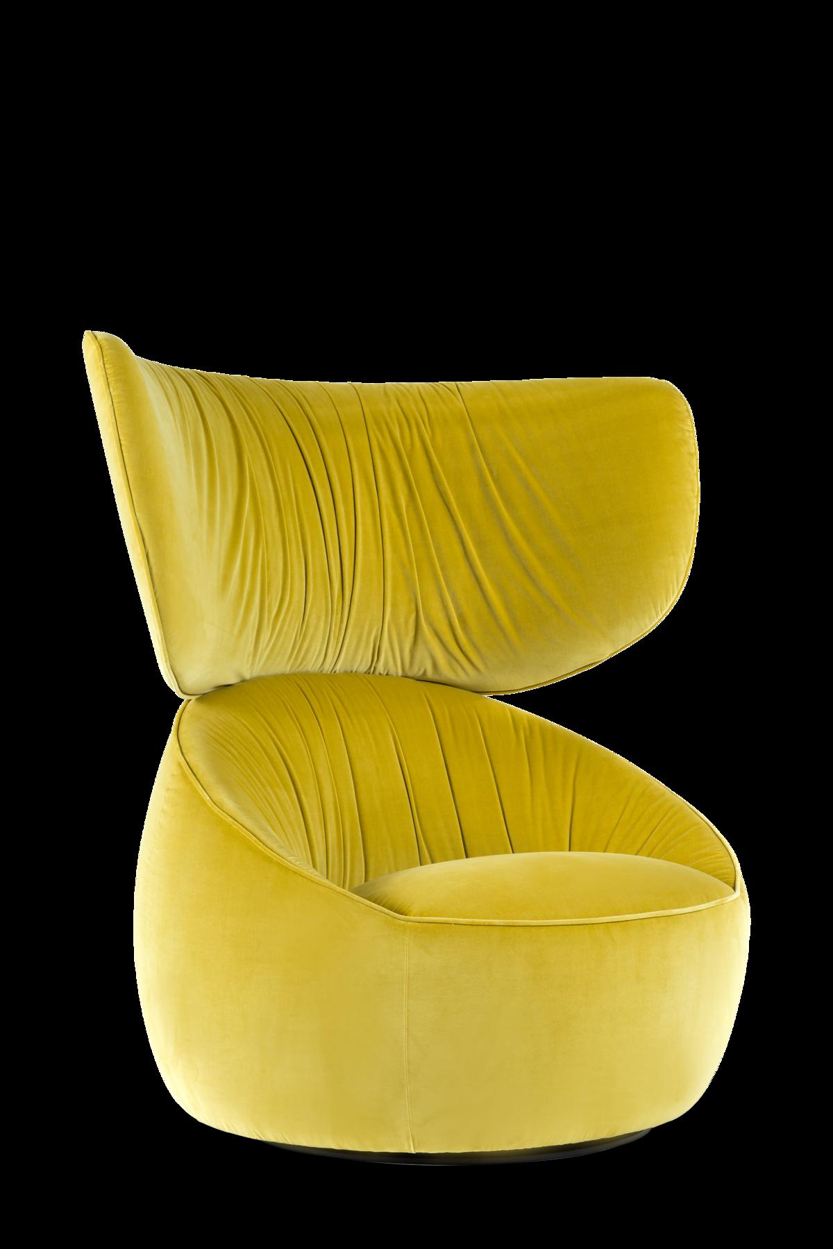 Hana highback in harold yellow