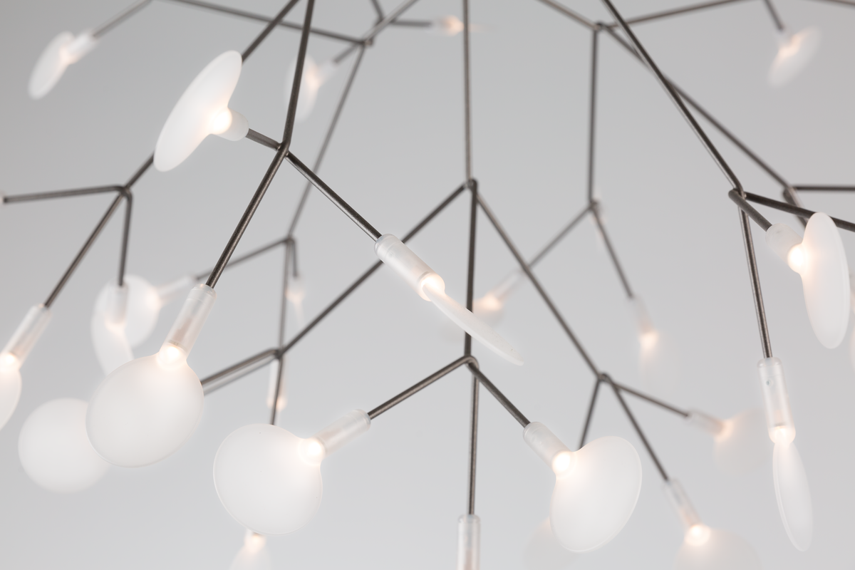 Heracleum suspension light detail 2