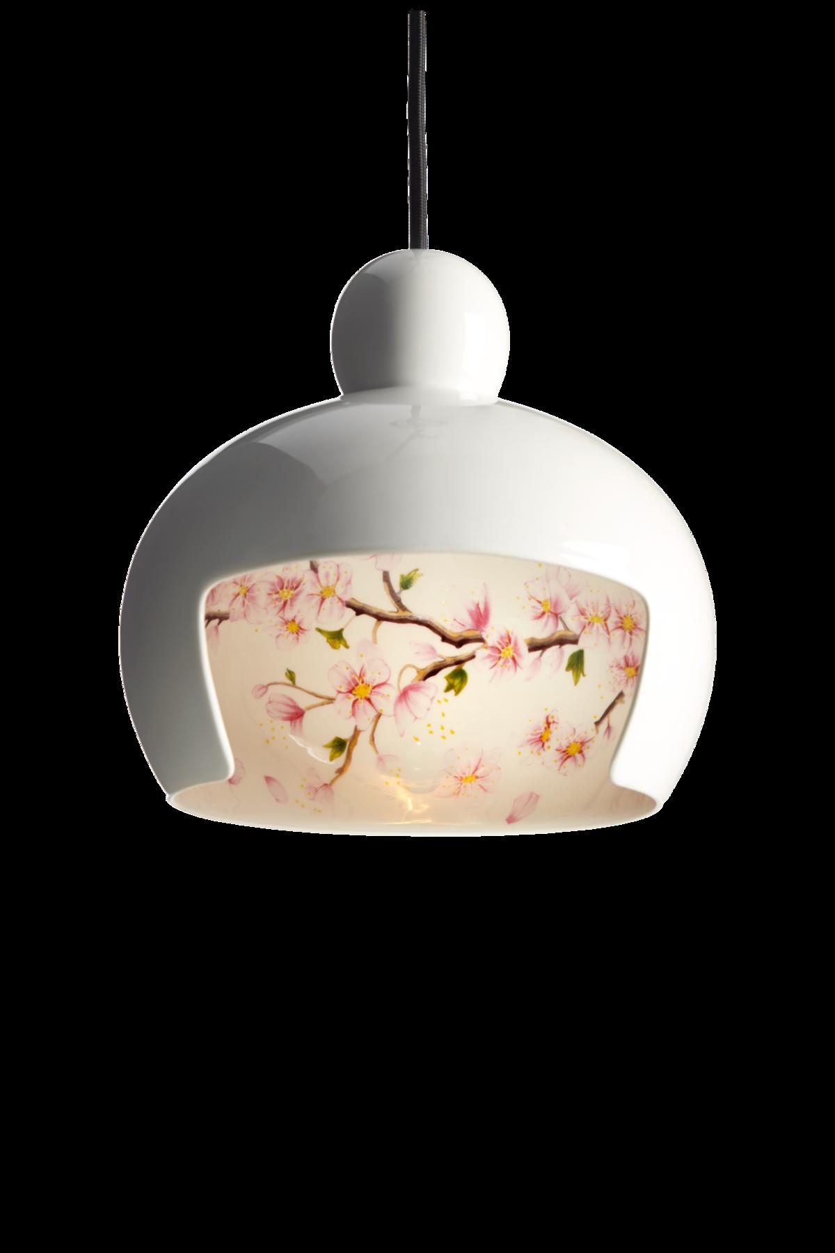 Juuyo suspension light Peach Flowers front view