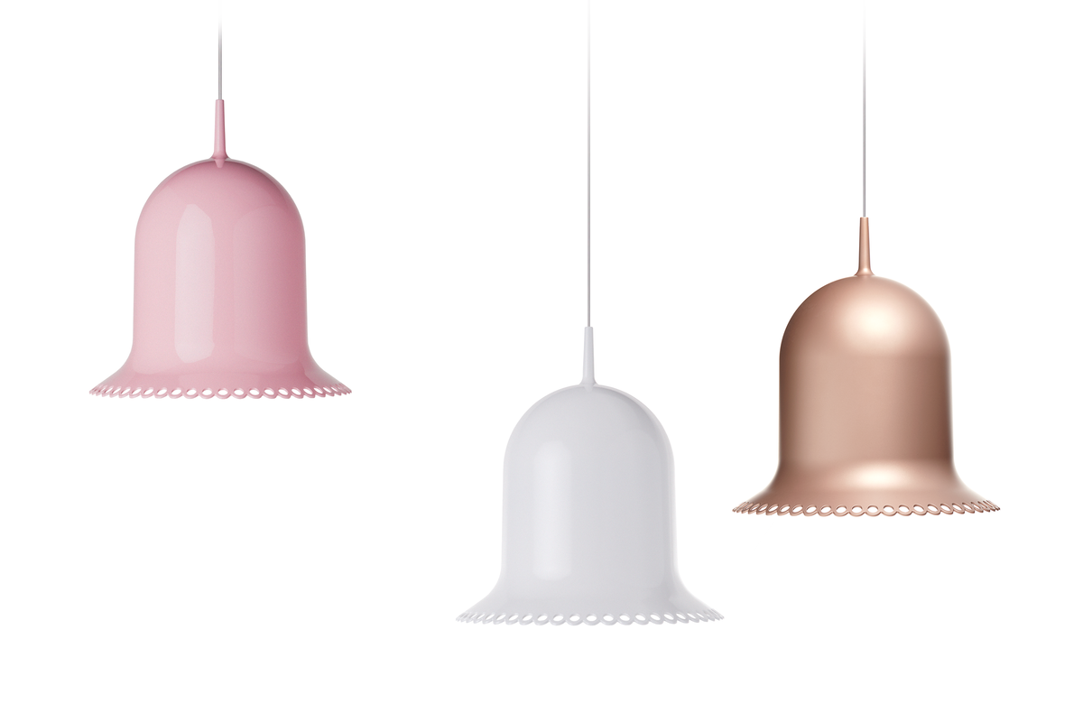 Lolita Suspension Lamp three colours front view