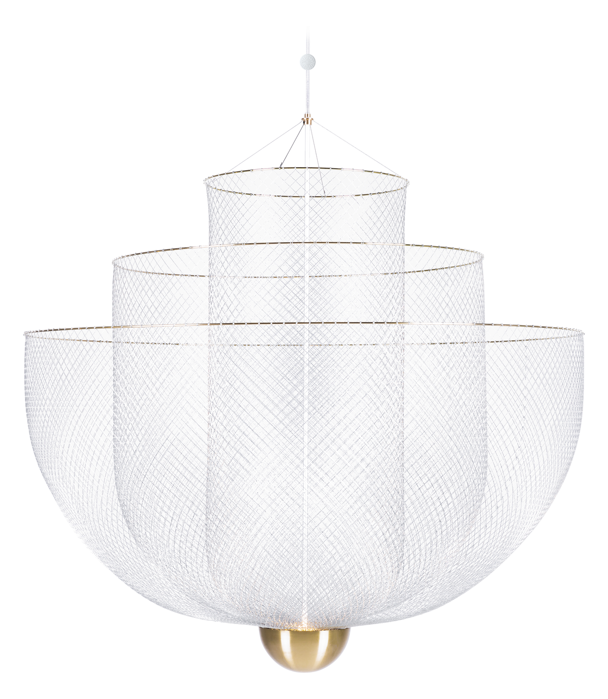 Meshmatics Chandelier suspension light large front view
