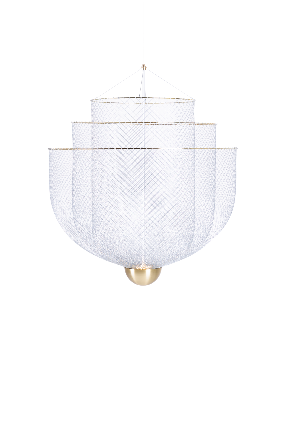 Meshmatics Chandelier Small suspension light front side