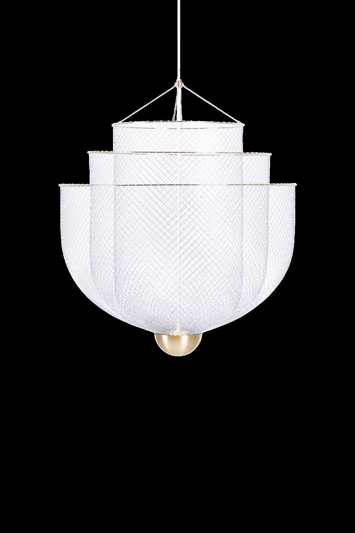 Meshmatics Chandelier Small suspension light front side