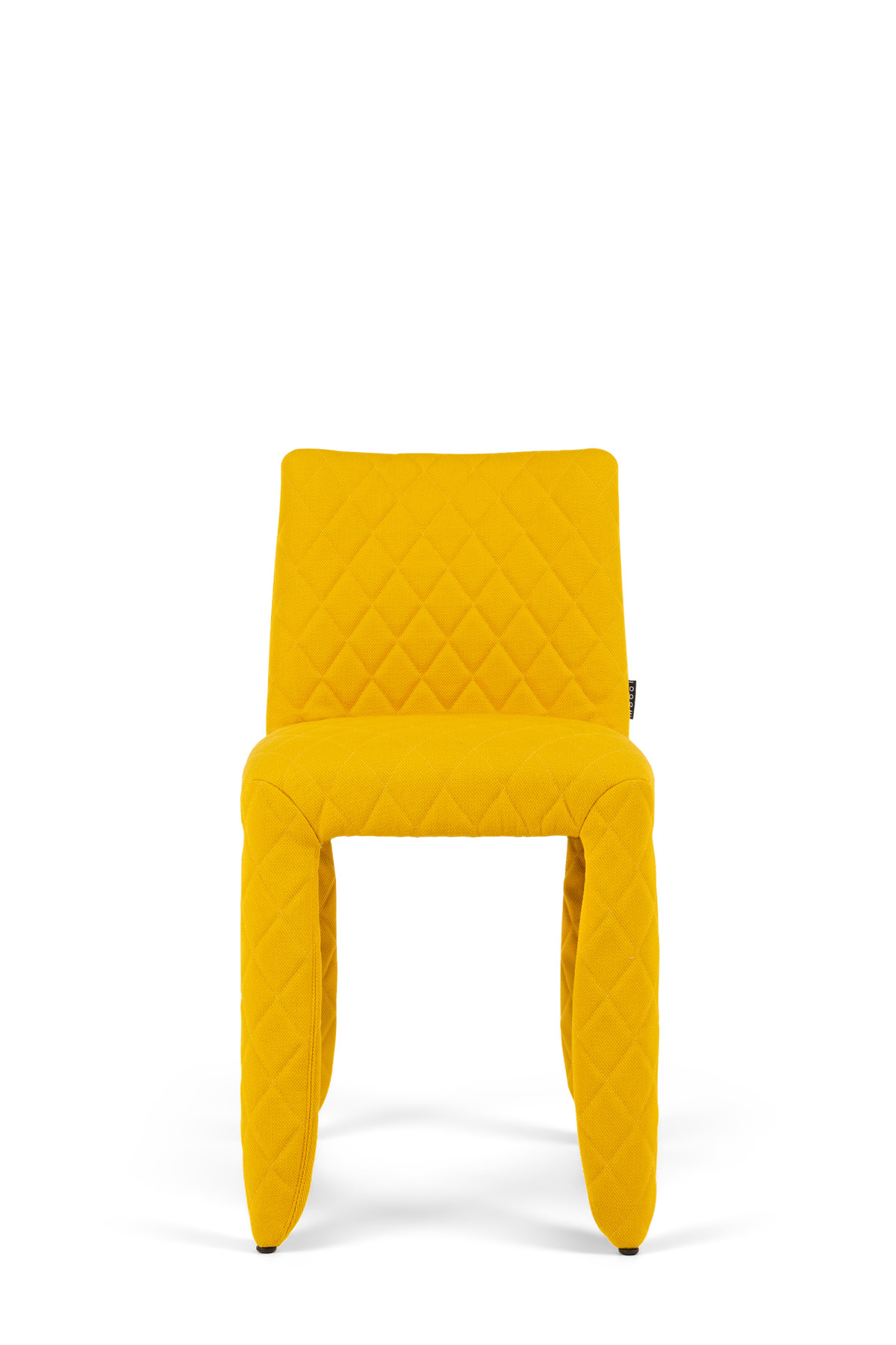 Monster Chair Steelcut yellow front side