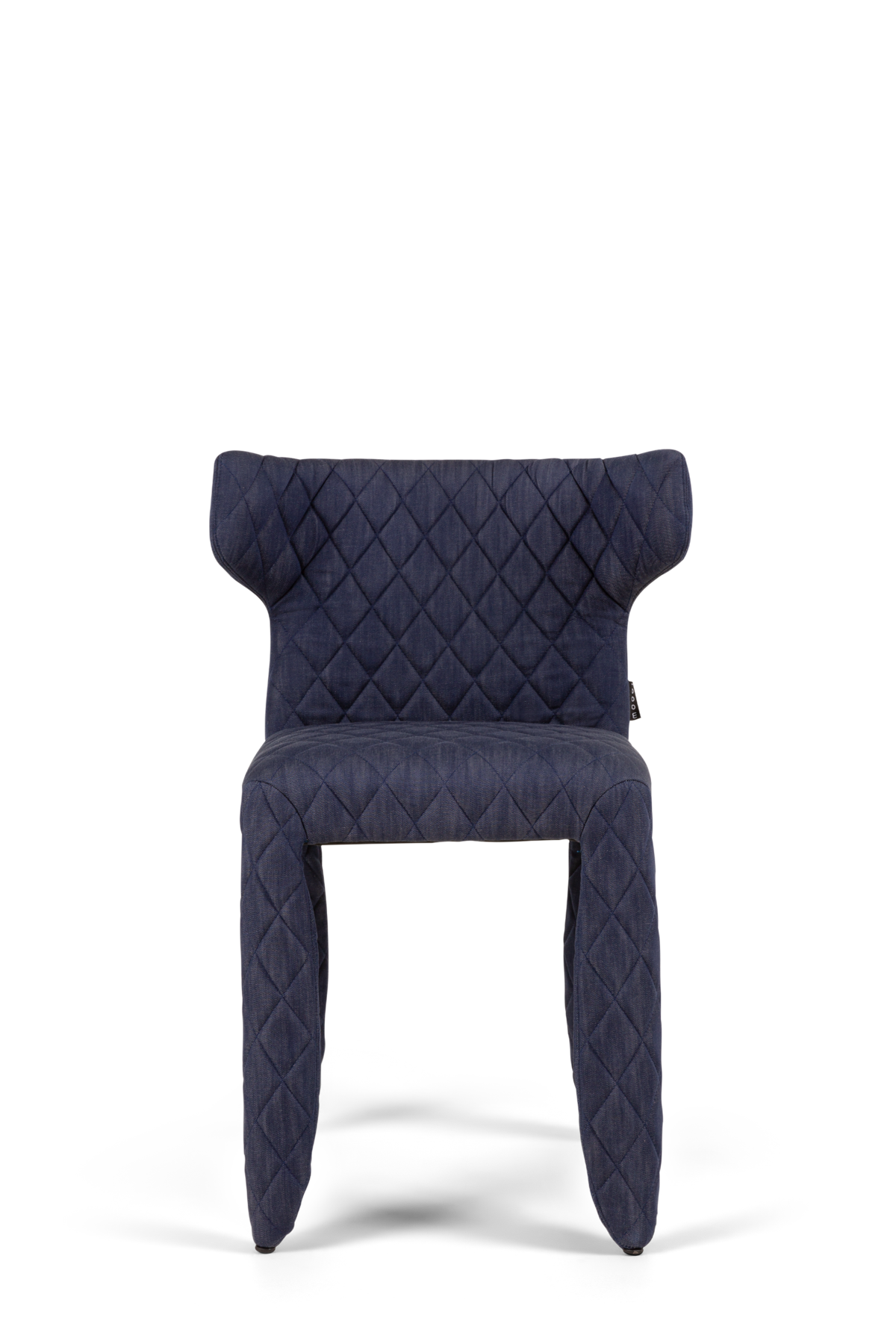 Monster Armchair Indigo Denim blue front side