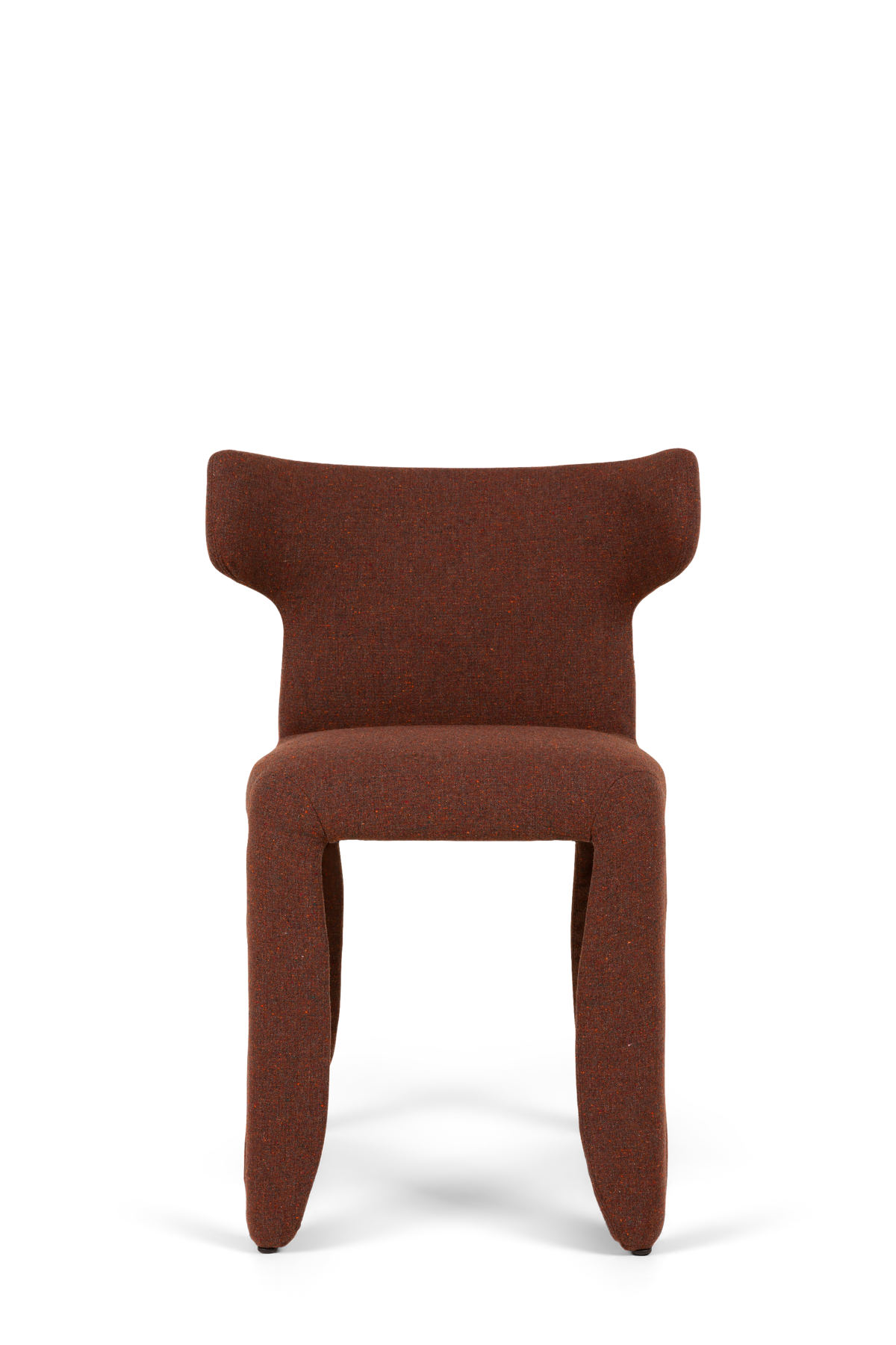 Monster Armchair Naked Solis Sunset red front side