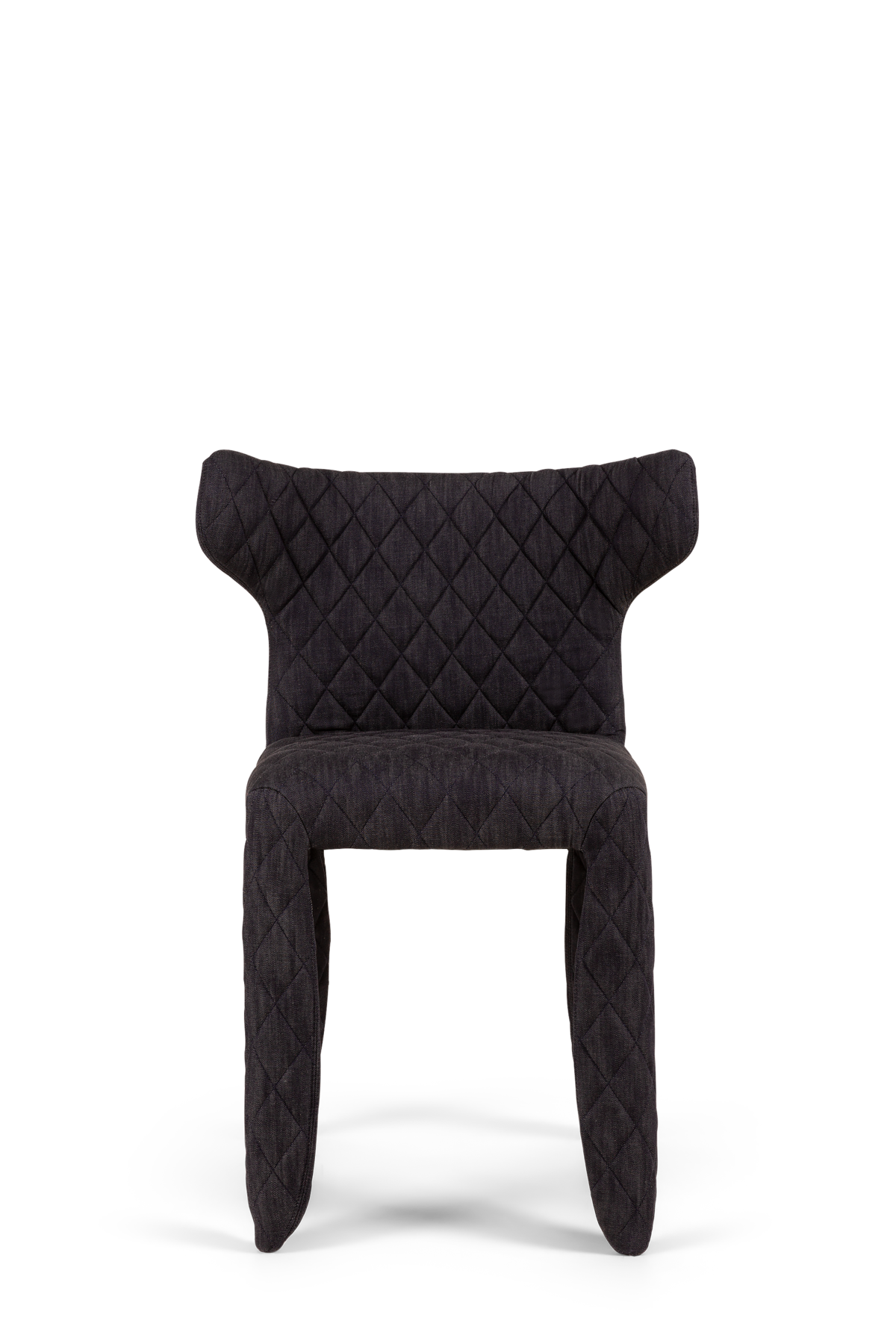 Monster Armchair Midnight Denim front side