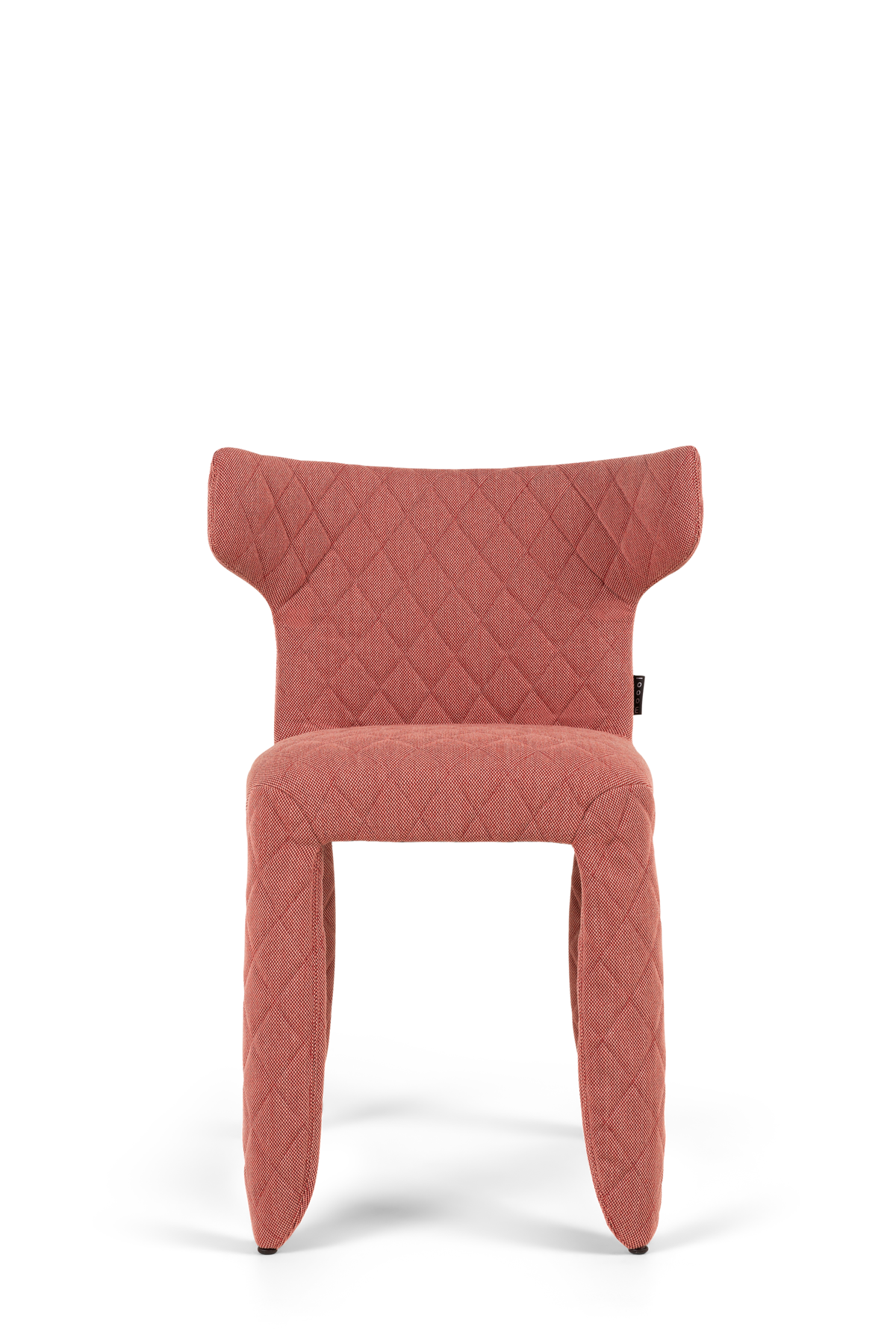 Monster Armchair Steelcut pink front side