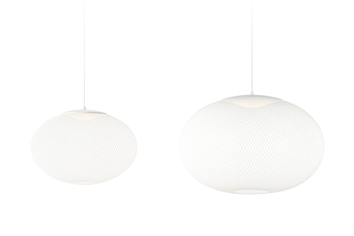 NR2 suspension light white two sizes medium and large