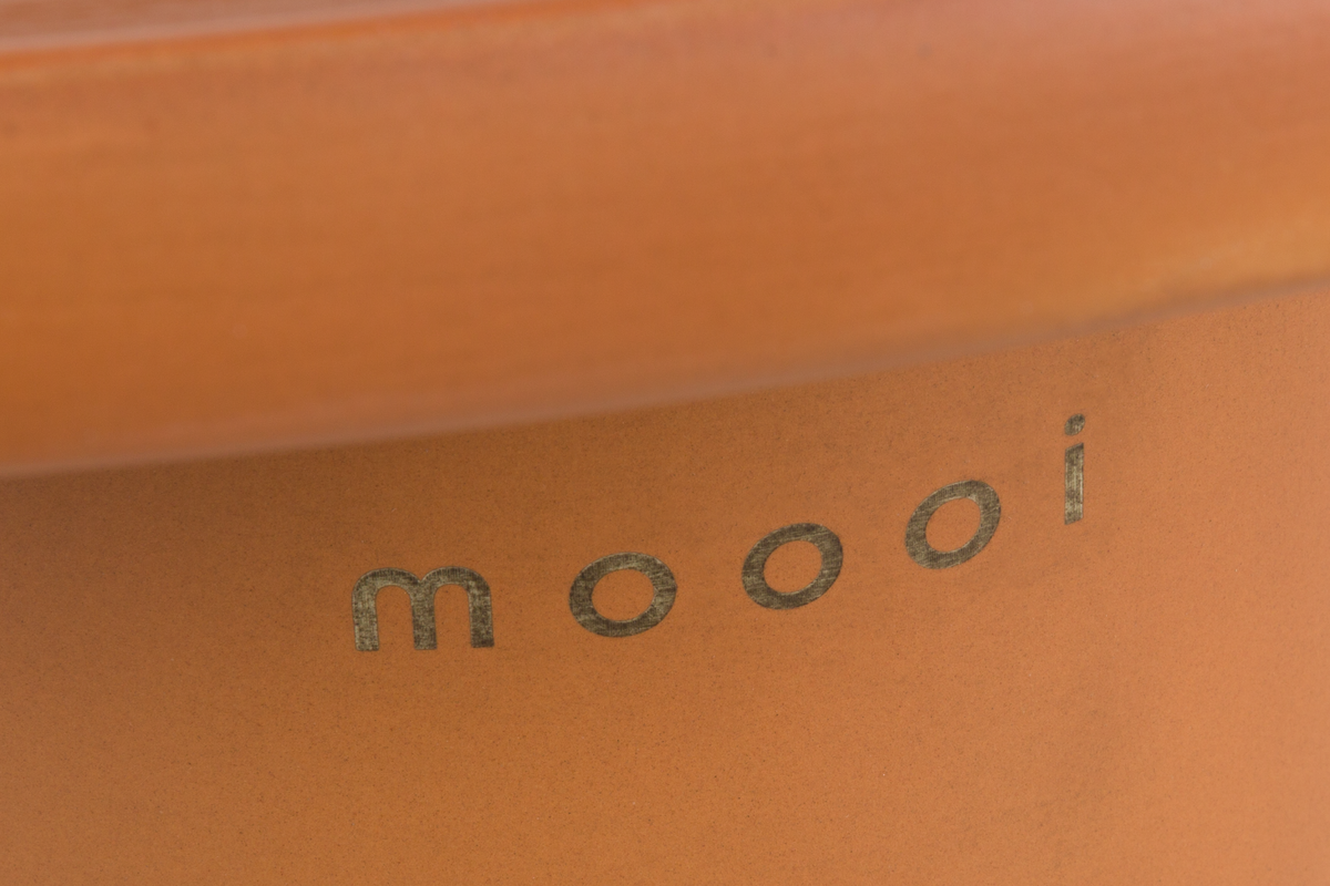Obon Table square low Terracotta detail 1 Moooi letters