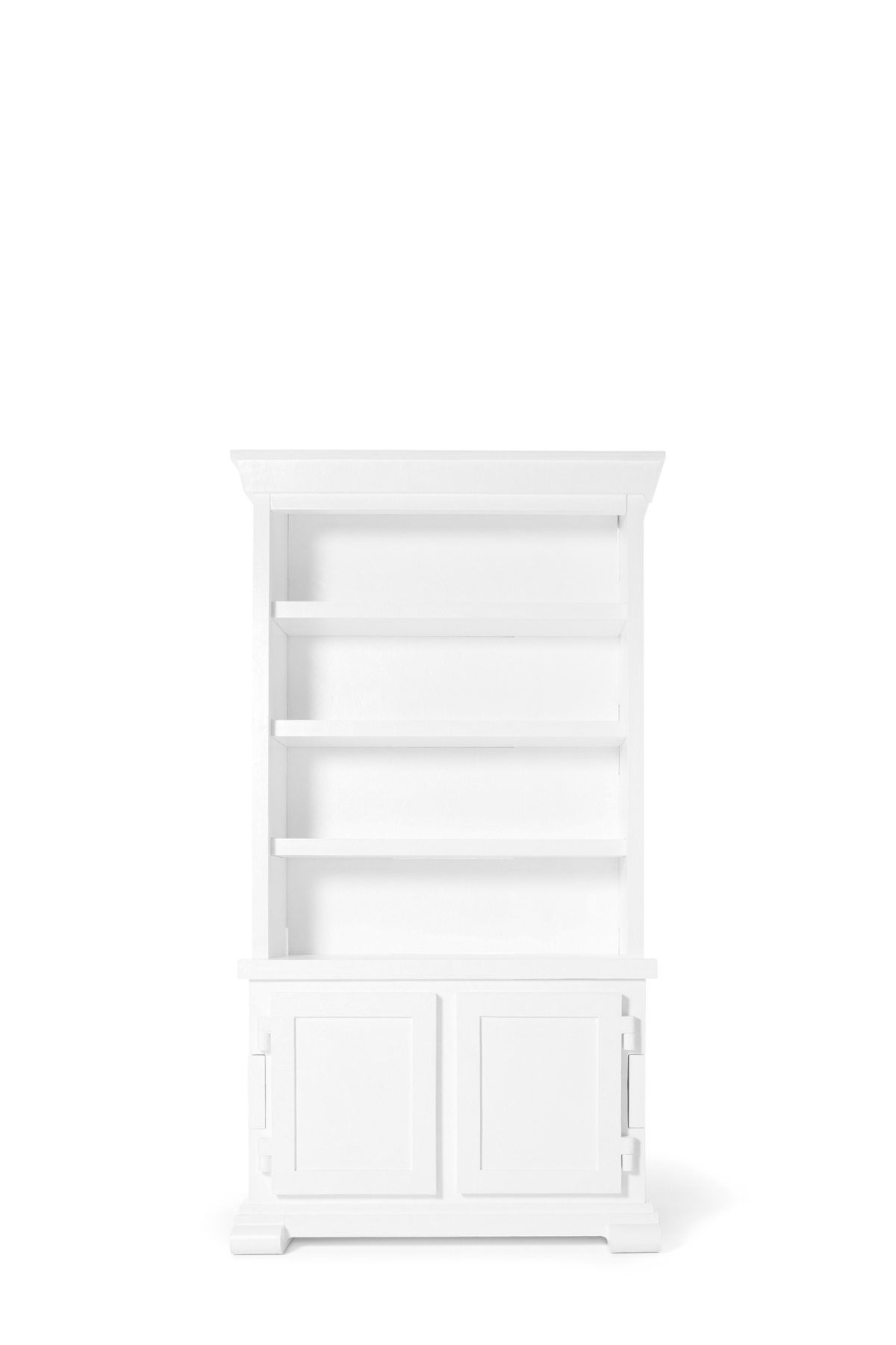 Paper Cabinet white front view