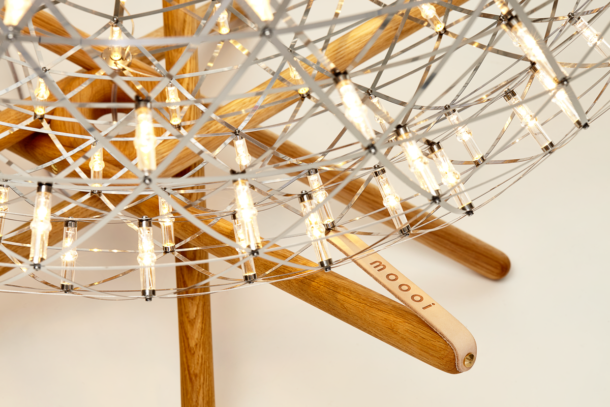 Raimond Tensegrity Floor Lamp detail 2