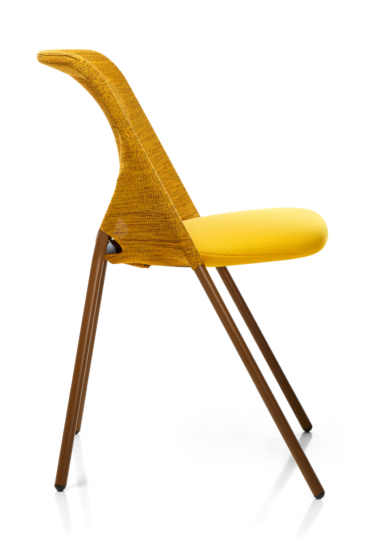 Shift Dining Chair yellow left side