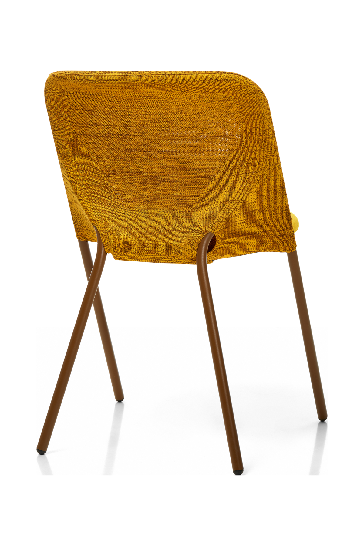 Shift Dining Chair yellow back view