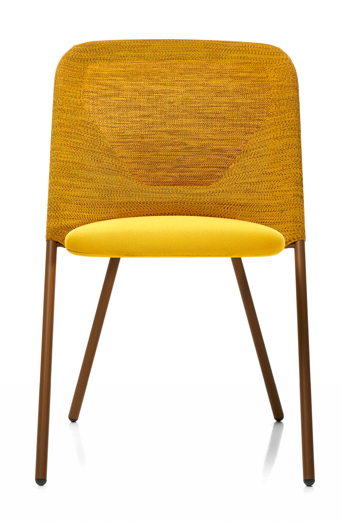 Shift Dining Chair yellow front side