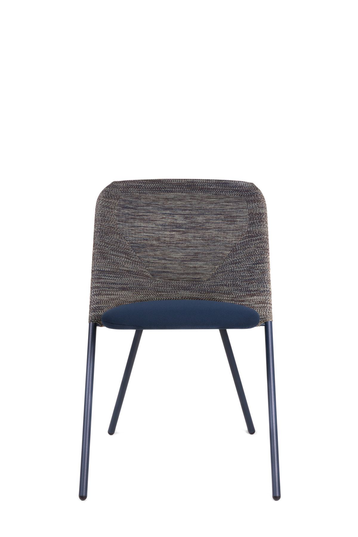 Shift Dining Chair Blue Grey front side