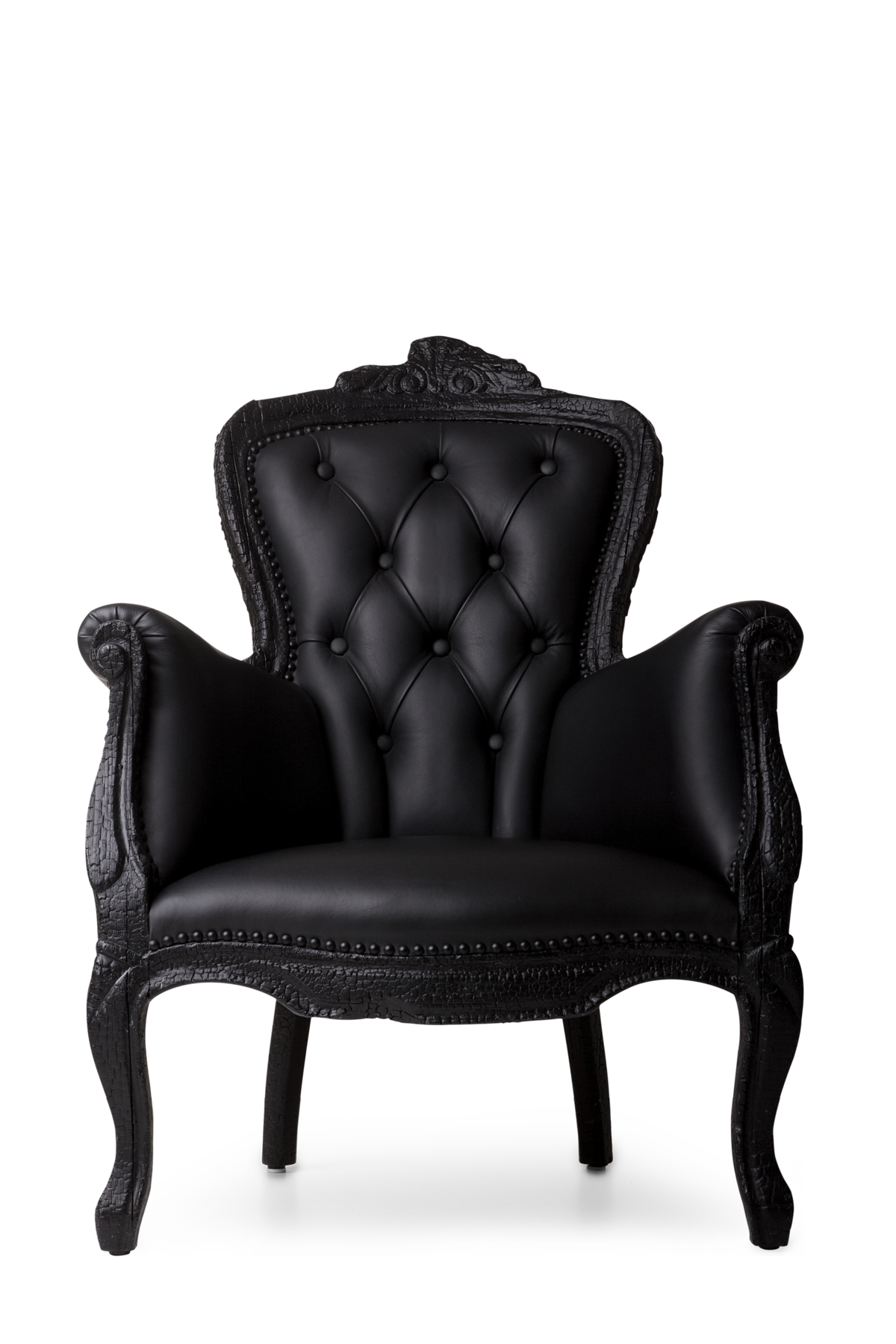 Smoke Dining Chair front view