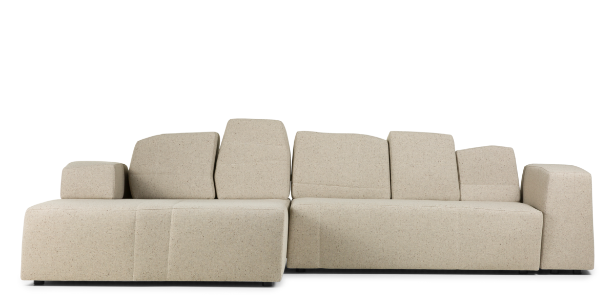 Something Like This Sofa beige front view