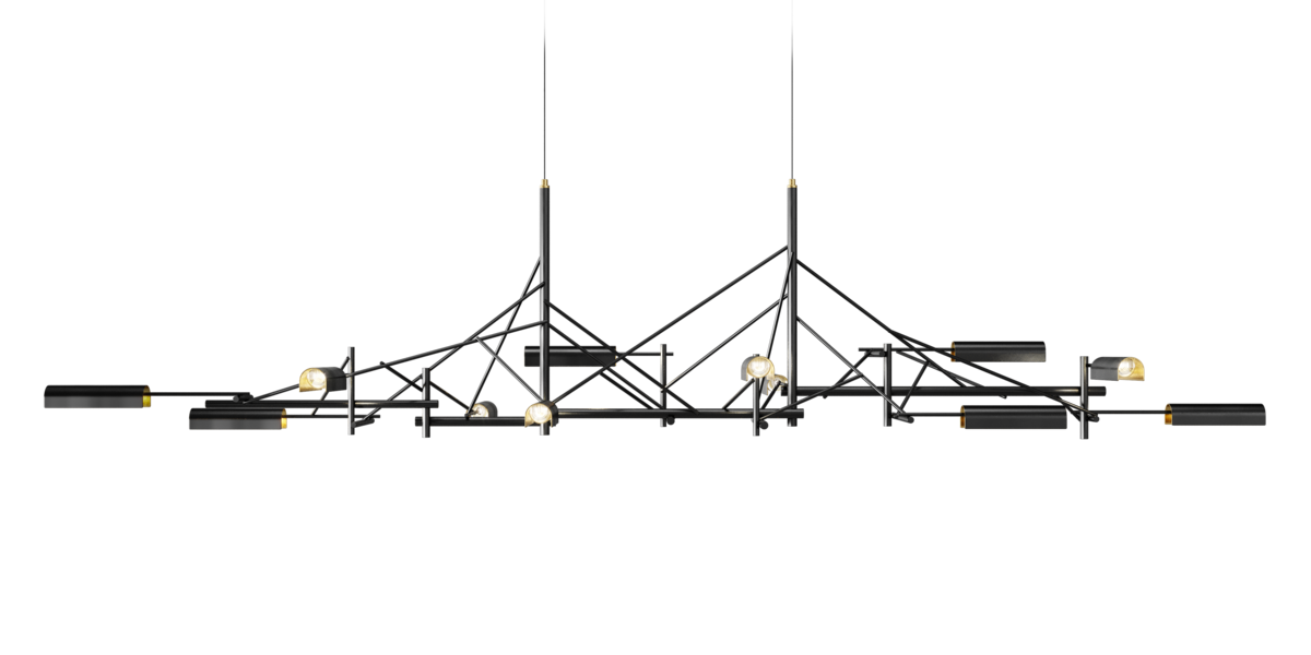 Tinkering suspension light large front side