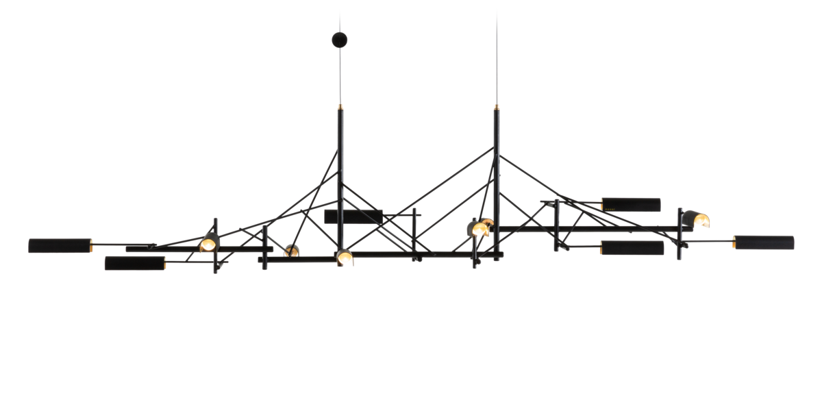 Tinkering suspension light 140 front view