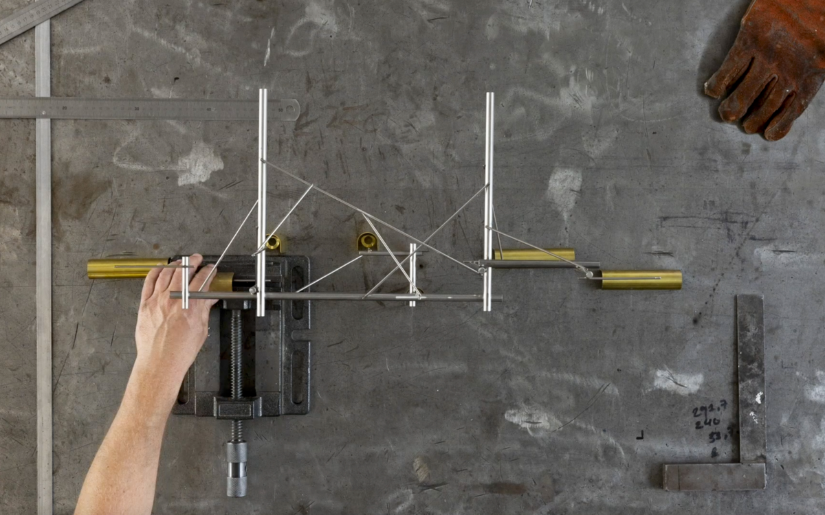 Tinkering suspension light prototyping