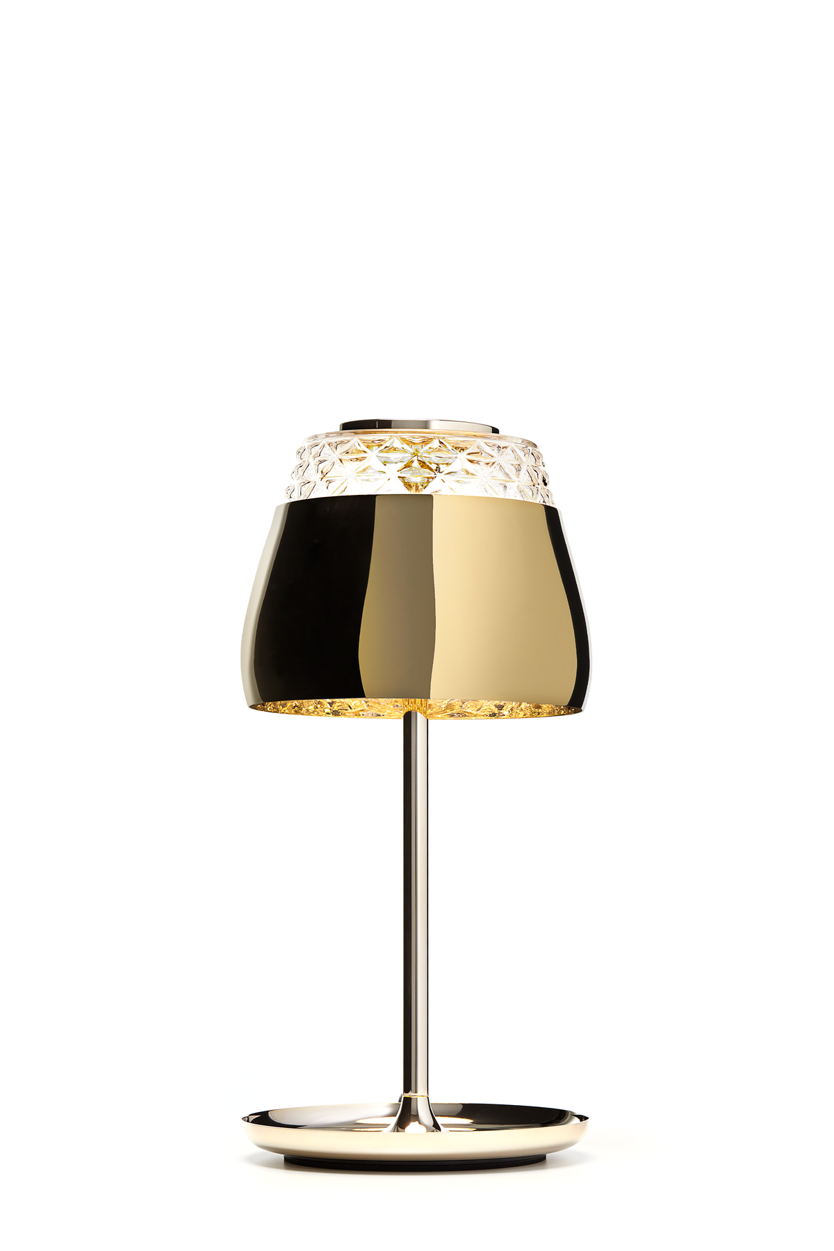 Valentine Table Lamp gold front view