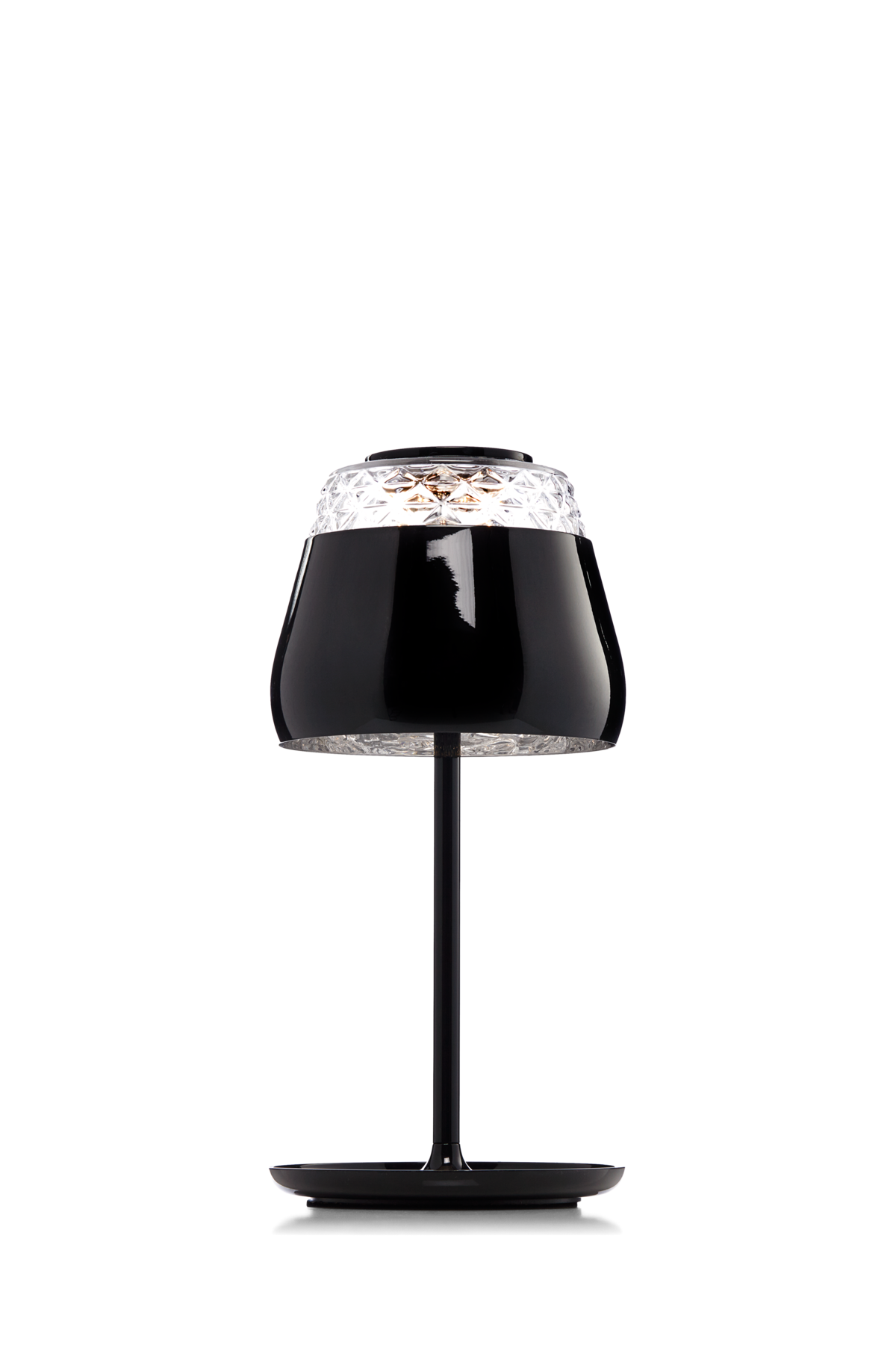 Valentine Table Lamp black front view