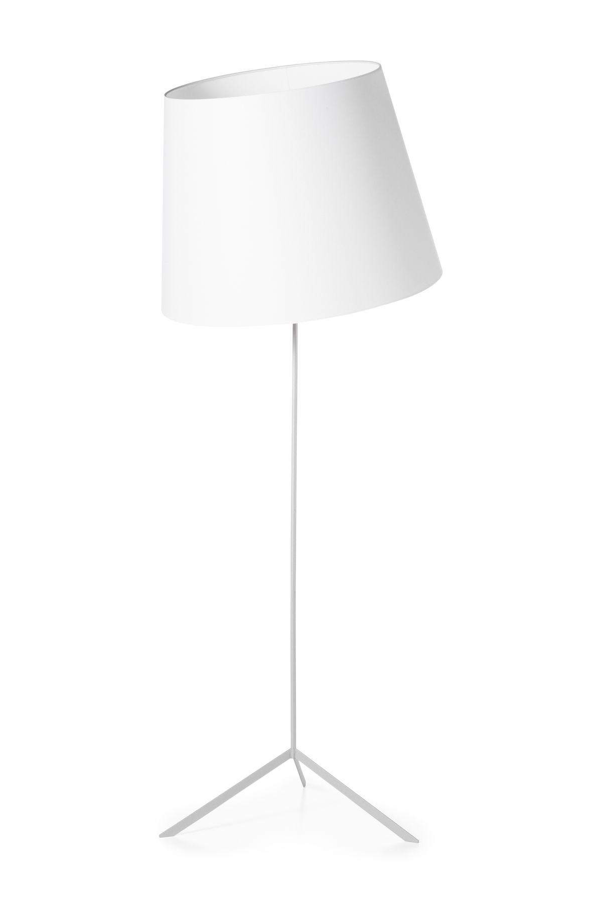 Double Shade floor lamp front view