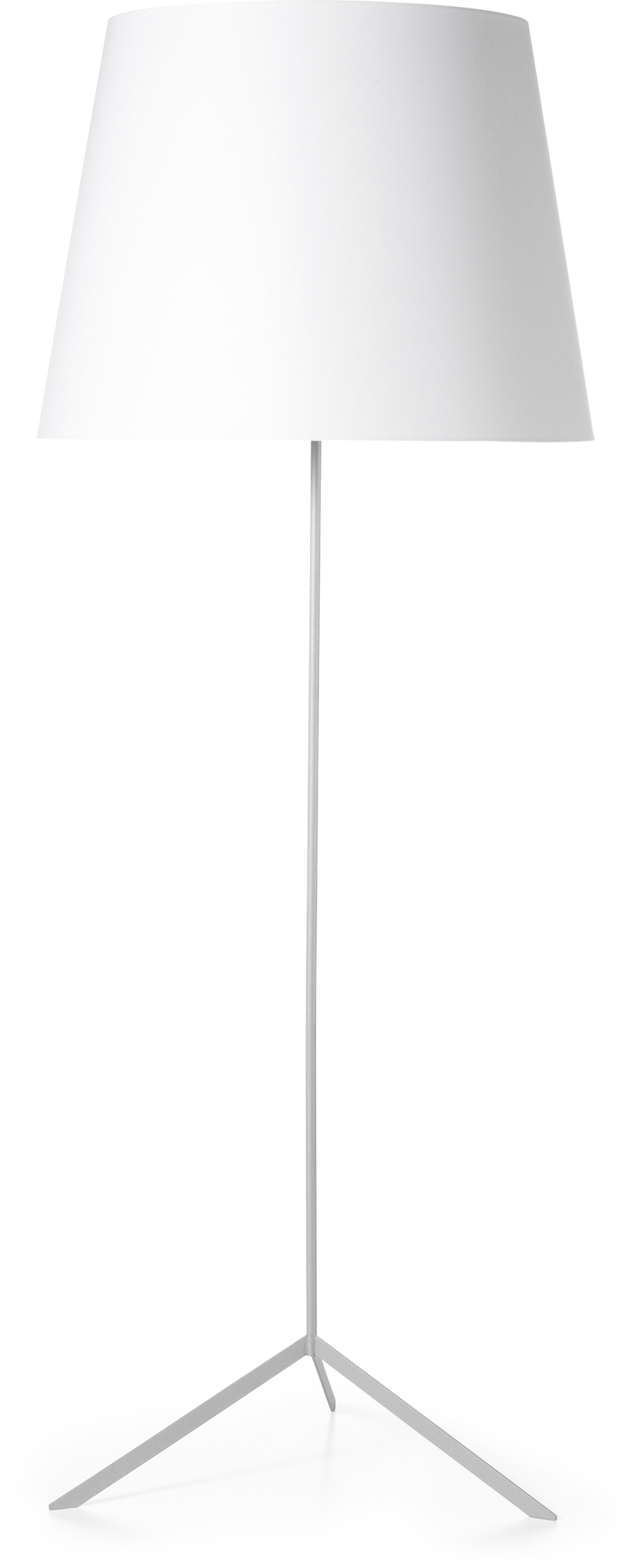 Double Shade floor lamp front side