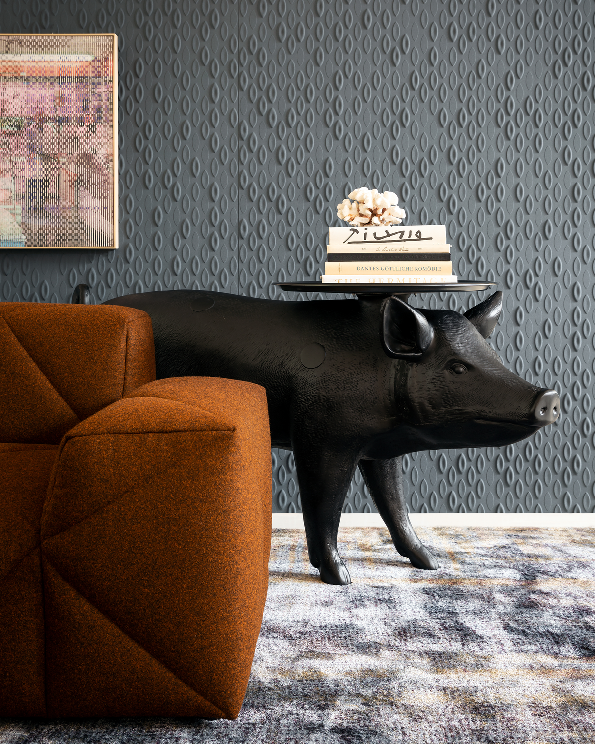 Moooi Pig Table by Front